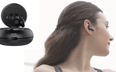 40mAh 3.7 V LP501011 Slim Lipo Battery for TWS Bluetooth Earphones